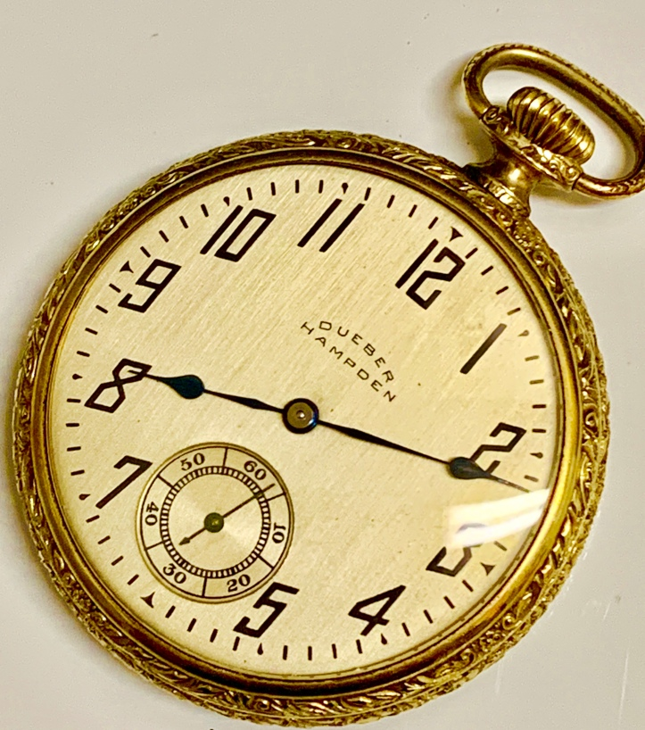 Hampden Dueber pocket watch
