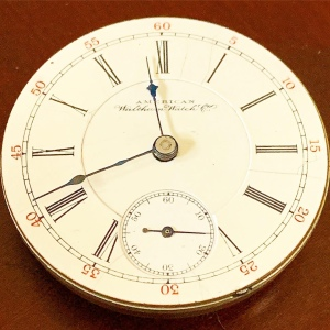 Waltham Pocket Watch Movement