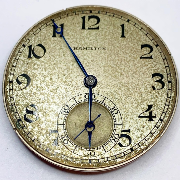 Hamilton Grade 916 Pocket Watch Movement